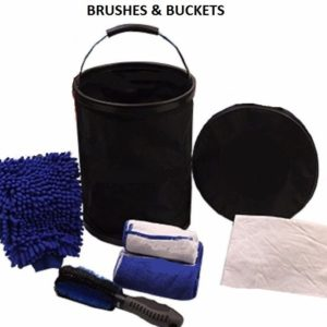 Brushes & Buckets