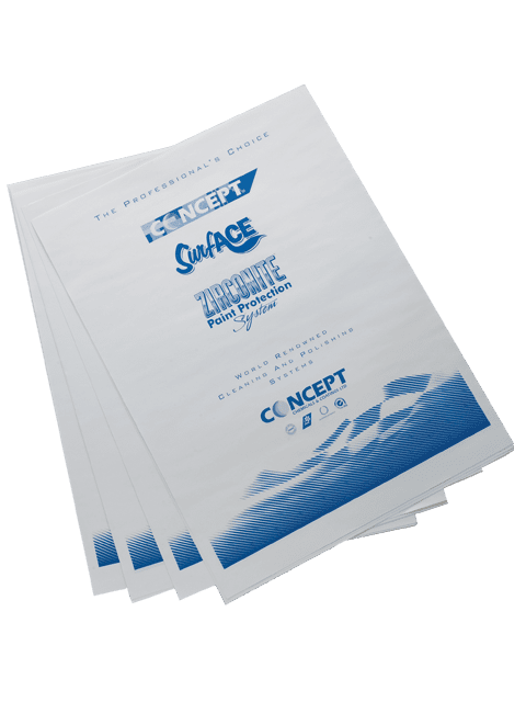 Paper Floor Mats Pack 250 Car Care Ireland